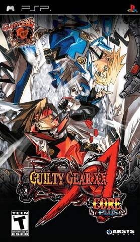 Guilty Gear XX Accent Core Plus USA PSP
